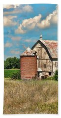 Brick Silo Hand Towel by Trey Foerster