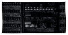 Bricks And Bottles Hand Towel