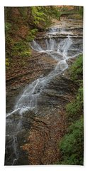 Bath Towel featuring the photograph Bridal Veil Falls by Dale Kincaid