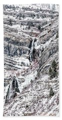 Bridal Veil Falls Bath Towel