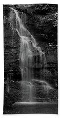 Hand Towel featuring the photograph Bridal Veil Falls by Raymond Salani III