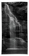Bath Towel featuring the photograph Bridal Veil Falls by Raymond Salani III