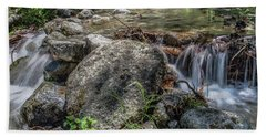 Bridalveil Creek Bath Towel by Ryan Weddle