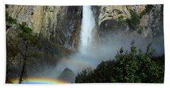 Bridalveil Falls Rainbows Bath Towel