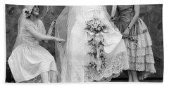Wedding Bouquet Bath Towels