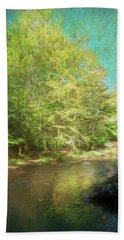 Bridge And Creek Bath Towel
