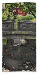 Bridge At Senso-ji Bath Towel