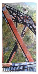 Bridge At Thurmond Wv Hand Towel