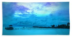 Bridge Hand Towel by Charuhas Images