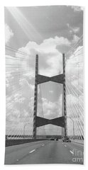 Bridge Clouds Hand Towel by WaLdEmAr BoRrErO