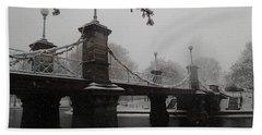 Bridge In Suspension 1867 Hand Towel