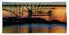 Bridge Motion Hand Towel