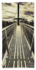 Bridge Of Suspension  Bath Towel