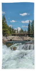 Bridge On The Pct Bath Towel