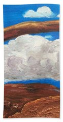 Bridge Over Clouds Hand Towel