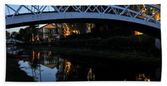 Bridge Over Lights Bath Towel