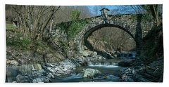 Bridge Over Peaceful Waters - Il Ponte Sul Ciae' Bath Towel