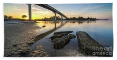Bridge Over Port St. Joe Bath Towel