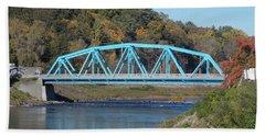 Bridge Over Rondout Creek 2 Bath Towel