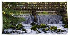 Bridge Over Stream Bath Towel