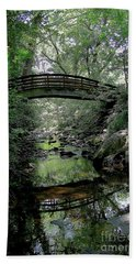 Bridge Reflections Bath Towel