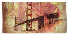 Bridge Rustic Hand Towel