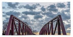 Bridge To The Clouds Hand Towel
