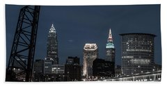 Bridges And Buildings Hand Towel