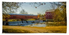 Bridgeton Mill Covered Bridge Hand Towel