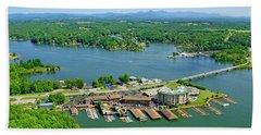 Bridgewater Plaza, Smith Mountain Lake, Virginia Hand Towel