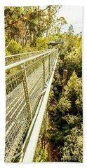 Bridging Forests  Bath Towel