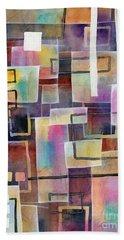 Bridging Gaps Hand Towel by Hailey E Herrera