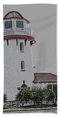 Brigantine Lighthouse Hand Towel