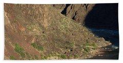 Bright Angel Trail Near The Colorado River Hand Towel