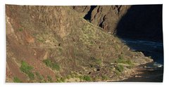 Bright Angel Trail Near The Colorado River Hand Towel