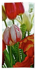 Bright Bouquet Hand Towel
