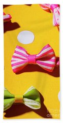 Bright Bow Tie Gallery Hand Towel