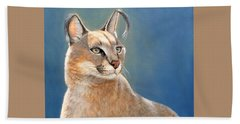 Bright Eyes - Caracal Bath Towel