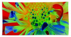 Bright Flower Bath Towel