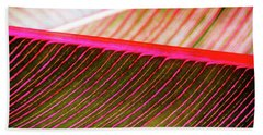 Bath Towel featuring the photograph Bright Leaves 548 by D Davila