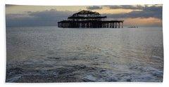 Brighton West Pier Bath Towel