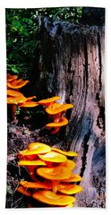 Brilliant Orange Hand Towel