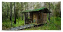 Brimbin Nature Reserve 01 Hand Towel by Kevin Chippindall