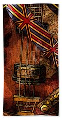 British Invasion Bath Towel by John Stuart Webbstock