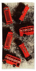 British Memories Hand Towel