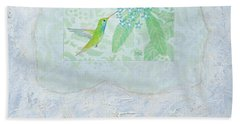 Broad-billed Hummingbird Bath Towel