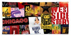 Broadway 10 Hand Towel by Andrew Fare