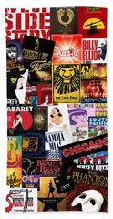 Broadway 9 Hand Towel by Andrew Fare