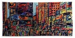 Broadway, New York  Hand Towel