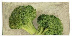 Broccoli Da Orto Hand Towel